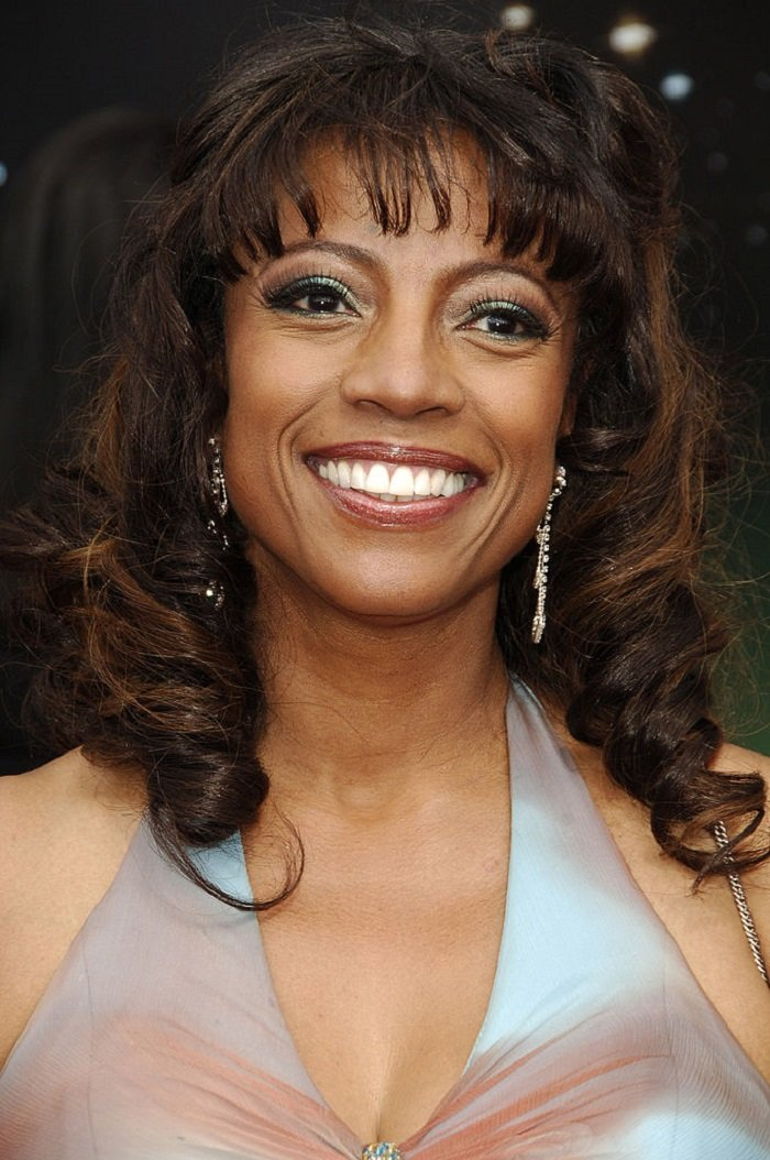 BernNadette Stanis poses in the press room at the 2006 BET Awards at the Shrine Auditorium on June 27, 2006 in Los Angeles, California. I Image: Getty Images