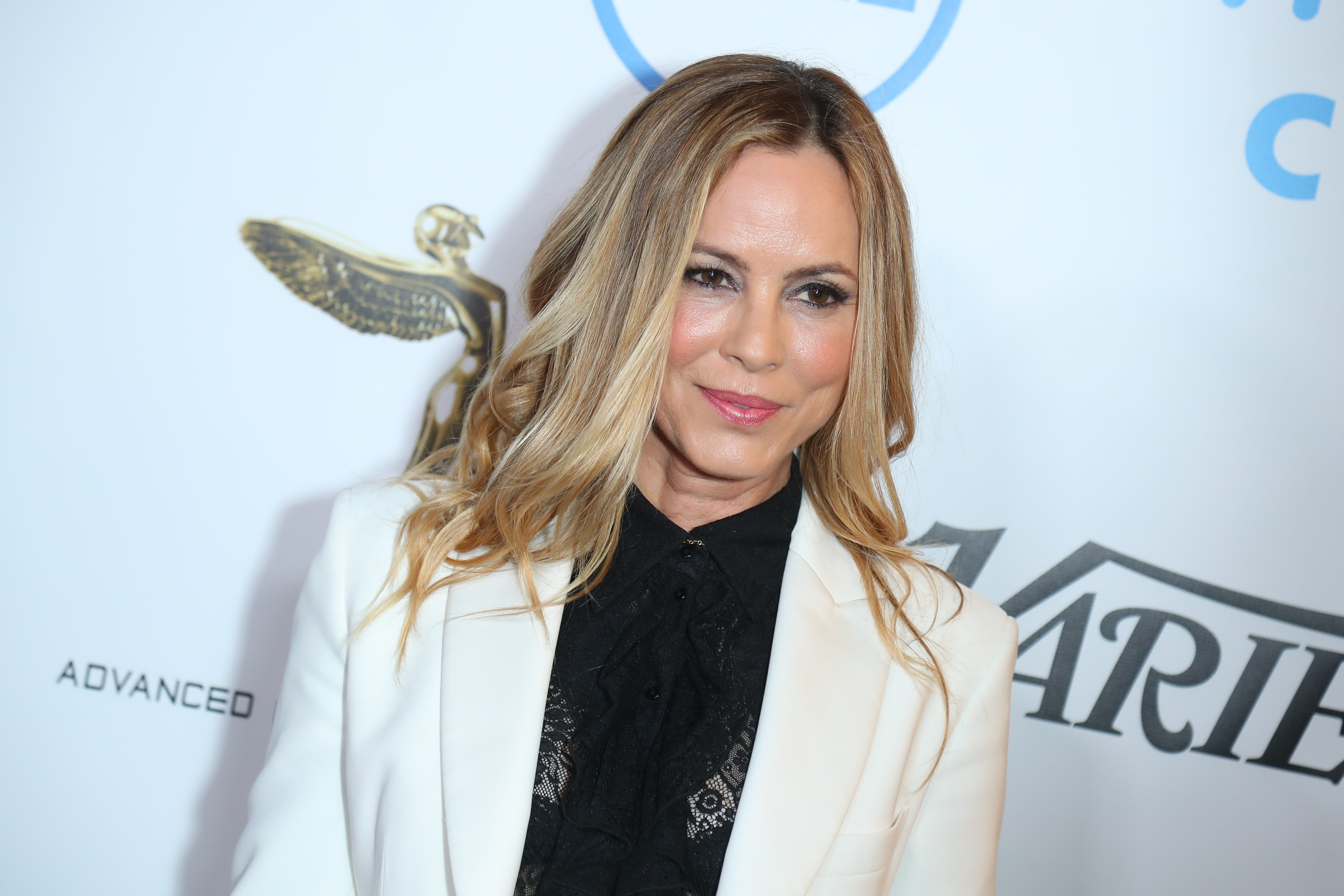 Maria Bello attends 10th Annual Lumiere Awards at Warner Bros. Studios on January 30, 2019 | Photo: GettyImages