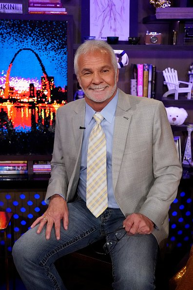 """Captain Lee Rosbach during his recent appearance on """"Watch What Happens Live With Andy Cohen."""" 