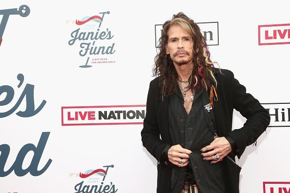 Steven Tyler at his Second Annual GRAMMY Awards Viewing Party on February 10, 2019 | Photo: Getty Images