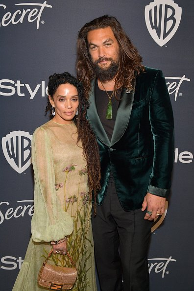 Lisa Bonet and Jason Momoa at The Beverly Hilton Hotel on January 05, 2020 in Beverly Hills, California. | Photo: Getty Images