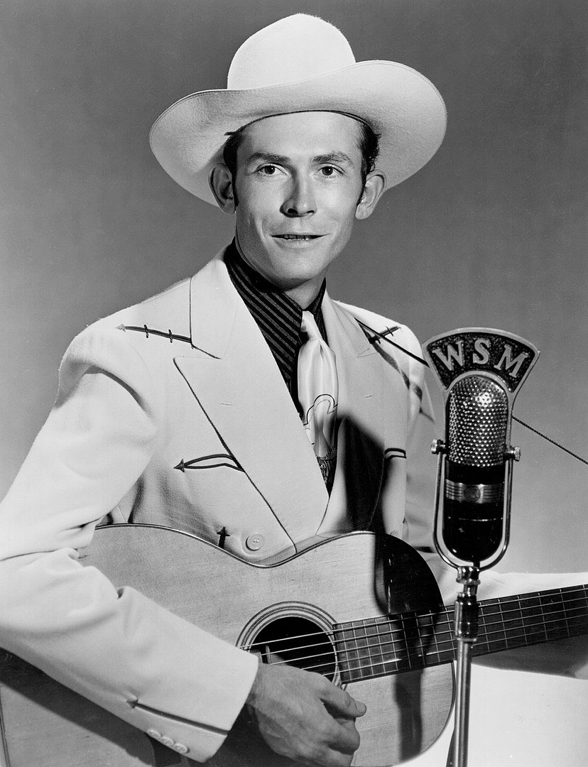 Hank Williams publicity photo for WSM in 1951 | Photo: Wikimedia Commons Images