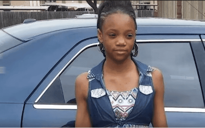Nylah Lightfoot, the victim | Source: YouTube/Fort Worth Star-Telegram