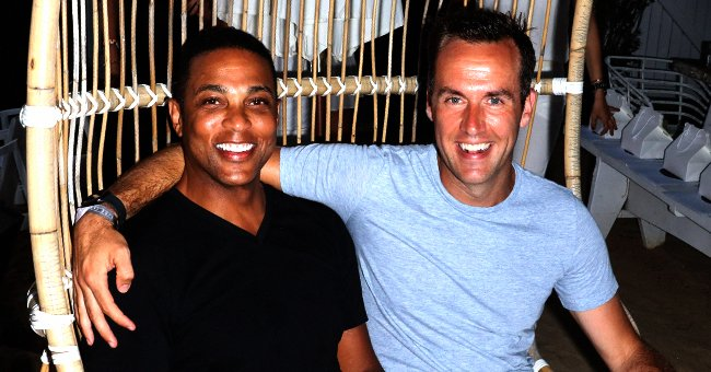 Don Lemon of CNN & Fiance Tim Malone Pose with Their 3 Cute Dogs While Social Distancing