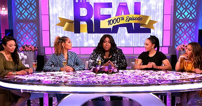 Loni Love Gives Special Shoutout to Former Co-Host Tamar Braxton on 'The Real's 1000th Episode