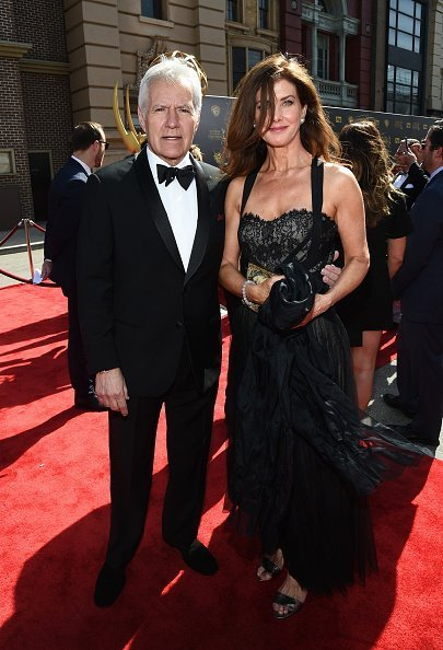 Alex Trebek and Jean Currivan Trebek attend The 42nd Annual Daytime Emmy Awards at Warner Bros. Studios on April 26, 2015, in Burbank, California.| Photo: Getty Images