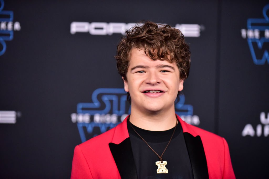 """Gaten Matarazzo at the Disney premiere of """"Star Wars: The Rise Of Skywalker"""" on December 16, 2019 in Hollywood, California. 