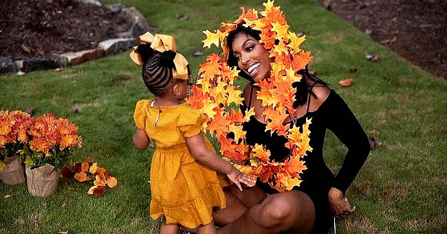 Porsha Williams' Daughter Looks Cute in Bows & a Brown Dress as She Poses with Her Mom & Cousin