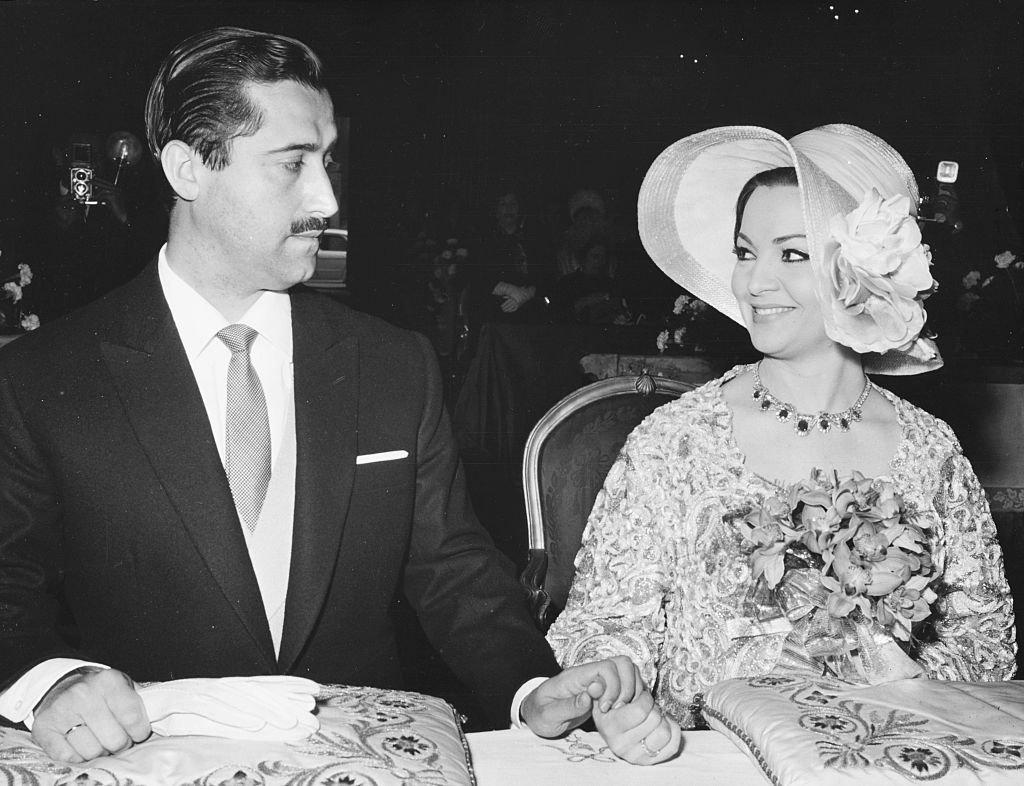 Sarita Montiel con su esposo José Vicente Ramírez. | Fuente: Getty Images