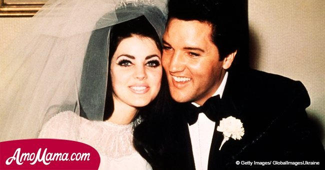 Sensational details of Elvis Presley and Priscilla's big day are revealed years later