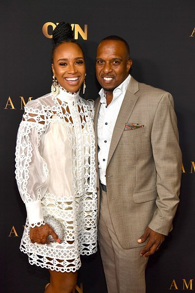 """Dr. Contessa Metcalfe and Dr. Scott Metcalfe attend """"Ambitions"""" Premiere on June 17, 2019 