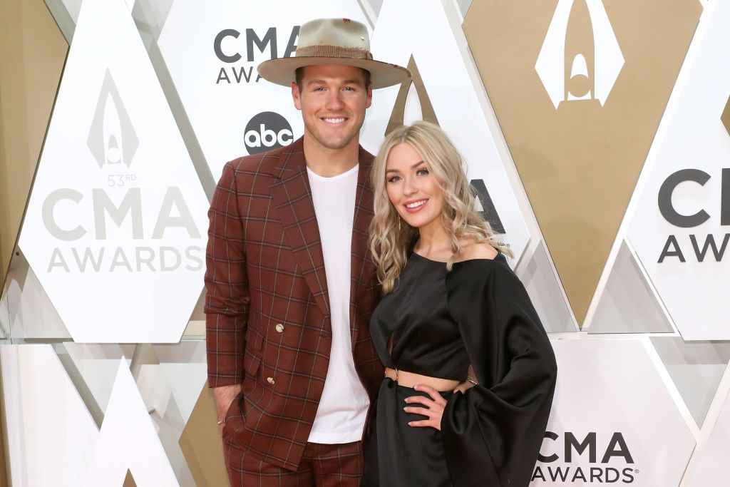 Colton Underwood and Cassie Randolph during the 53nd annual CMA Awards at Bridgestone Arena on November 13, 2019. | Photo: Getty Images