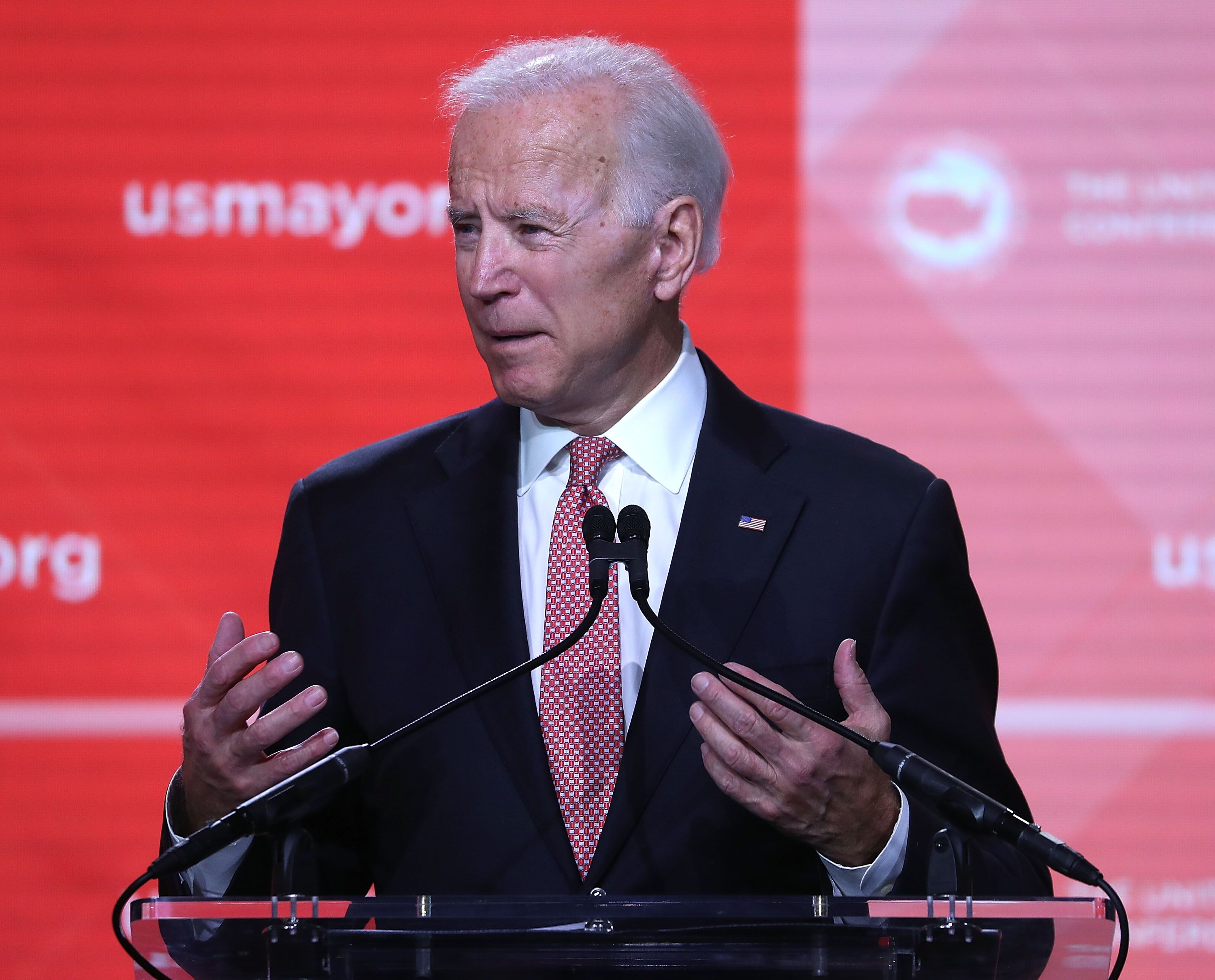 U.S. President Joe Biden spoke at the 87th United States Conference of Mayors Winter Meeting at the Capitol Hilton on January 24, 2019 | Photo: Getty Images