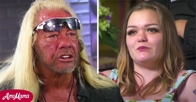 """A picture of """"Dog the Bounty Hunter"""" star Duane Chapman and his daughter Bonnie Chapman 