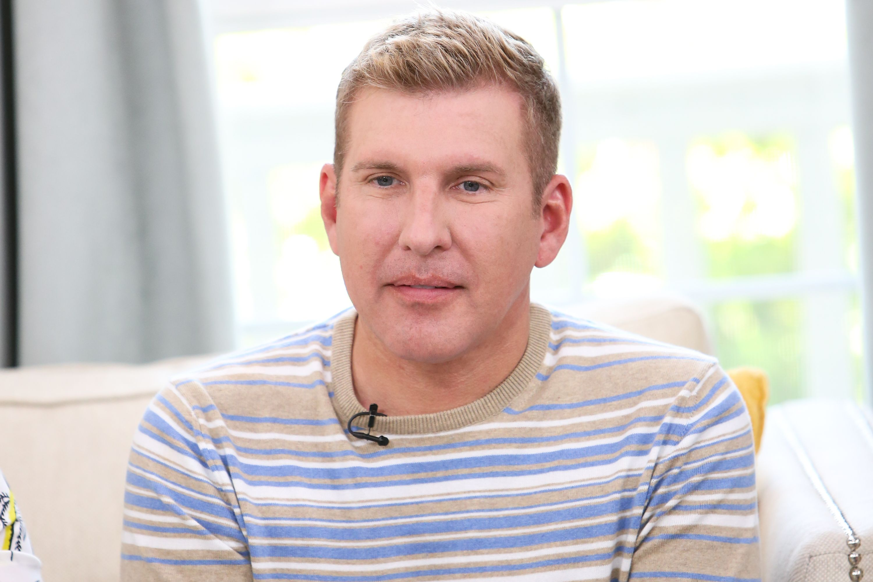 """Todd Chrisley at Hallmark's """"Home & Family"""" at Universal Studios Hollywood on June 18, 2018 