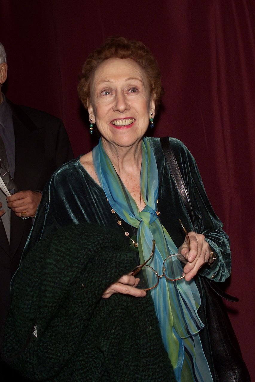 Jean Stapleton at the opening night party for 'Follies' on Broadway at The Belasco Theatre in New York City, March 5, 2001. | Source: Getty Images