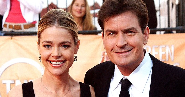 Denise Richards and Charlie Sheen at the Screen Actors Guild Awards on February 5, 2005 | Photo: Jon Kopaloff/FilmMagic/Getty Images