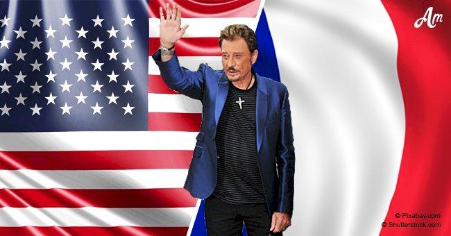 """""""Je vis à Los Angeles, mais je suis français"""": Le biograhe dévoile les aveux de Johnny Hallyday"""