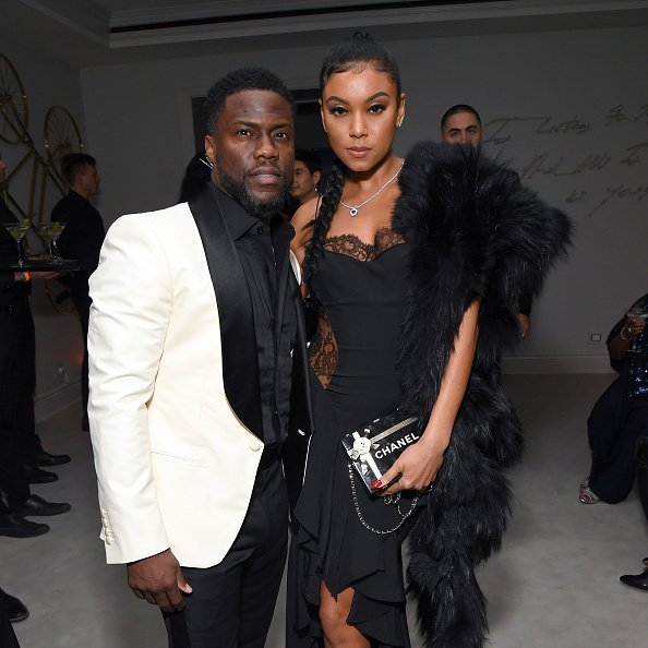 Kevin Hart and Eniko Parrish attend Sean Combs 50th Birthday Bash presented by Ciroc Vodka on December 14, 2019 in Los Angeles, California.|Photo:Getty Images