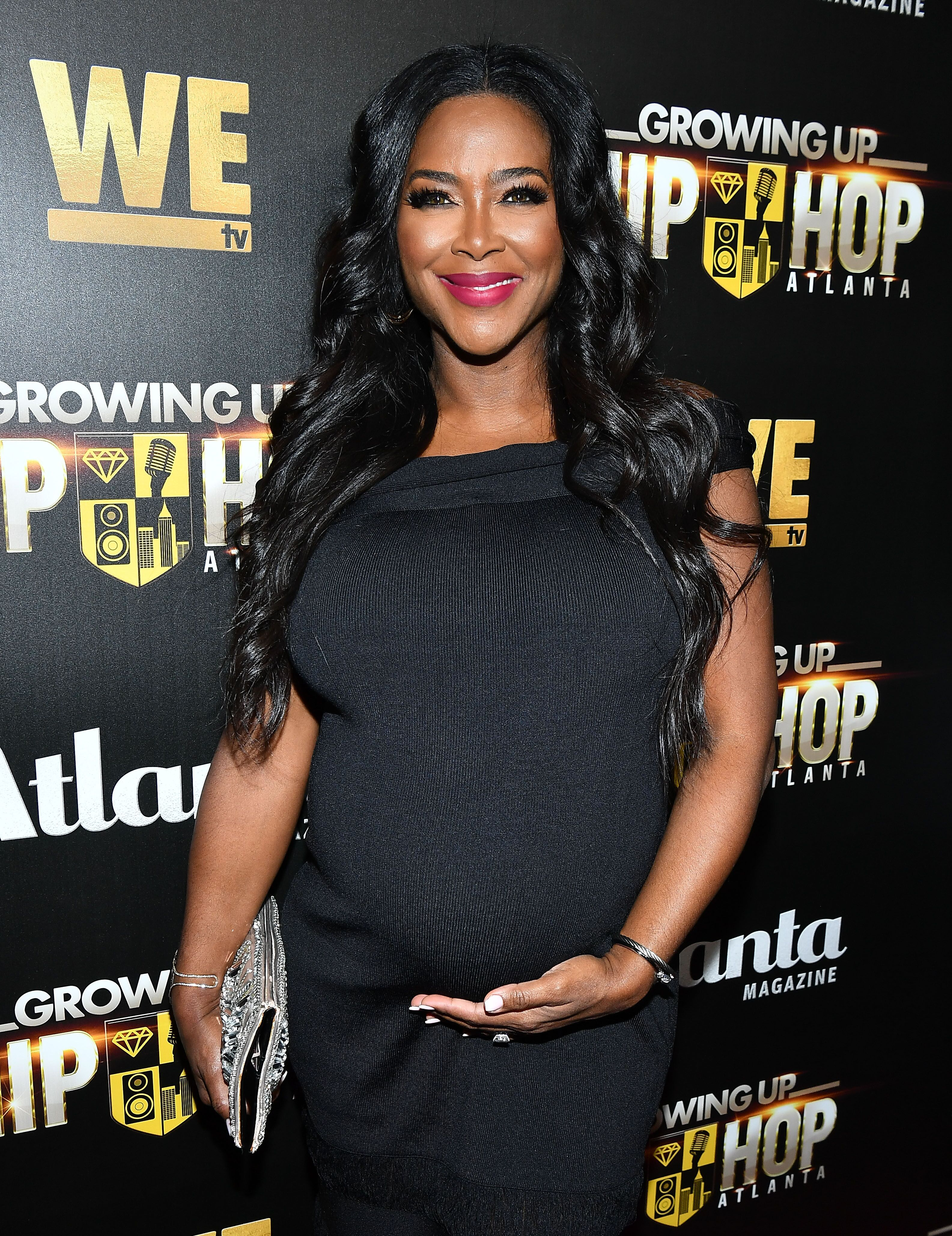 """Kenya Moore at a """"Growing Up Hip Hop"""" event in Atlanta/ Source: Getty Image"""