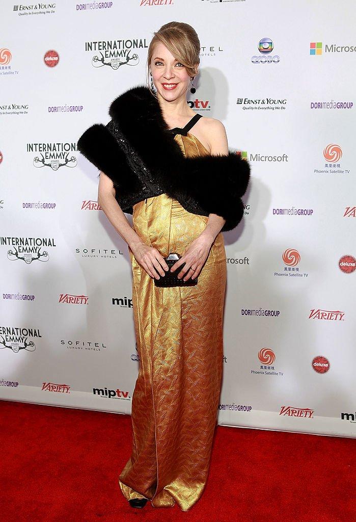 Edith González en la 40ª edición de los Premios Emmy Internacionales el 19 de noviembre de 2012 en Nueva York. | Imagen: Getty Images