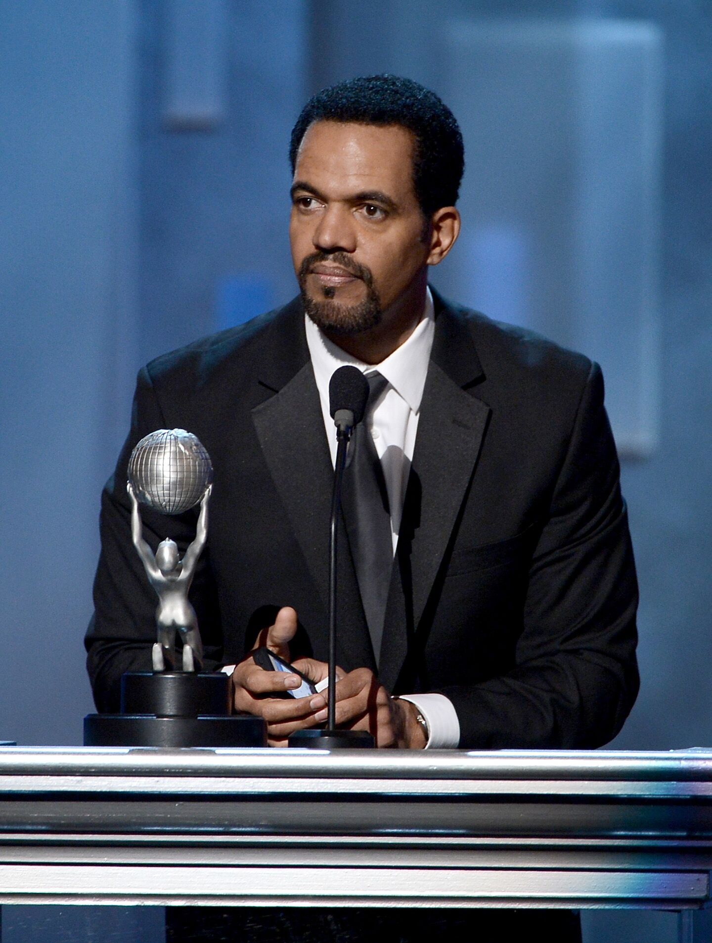 Actor Kristoff St. John onstage during the 44th NAACP Image Awards at The Shrine Auditorium  | Getty Images