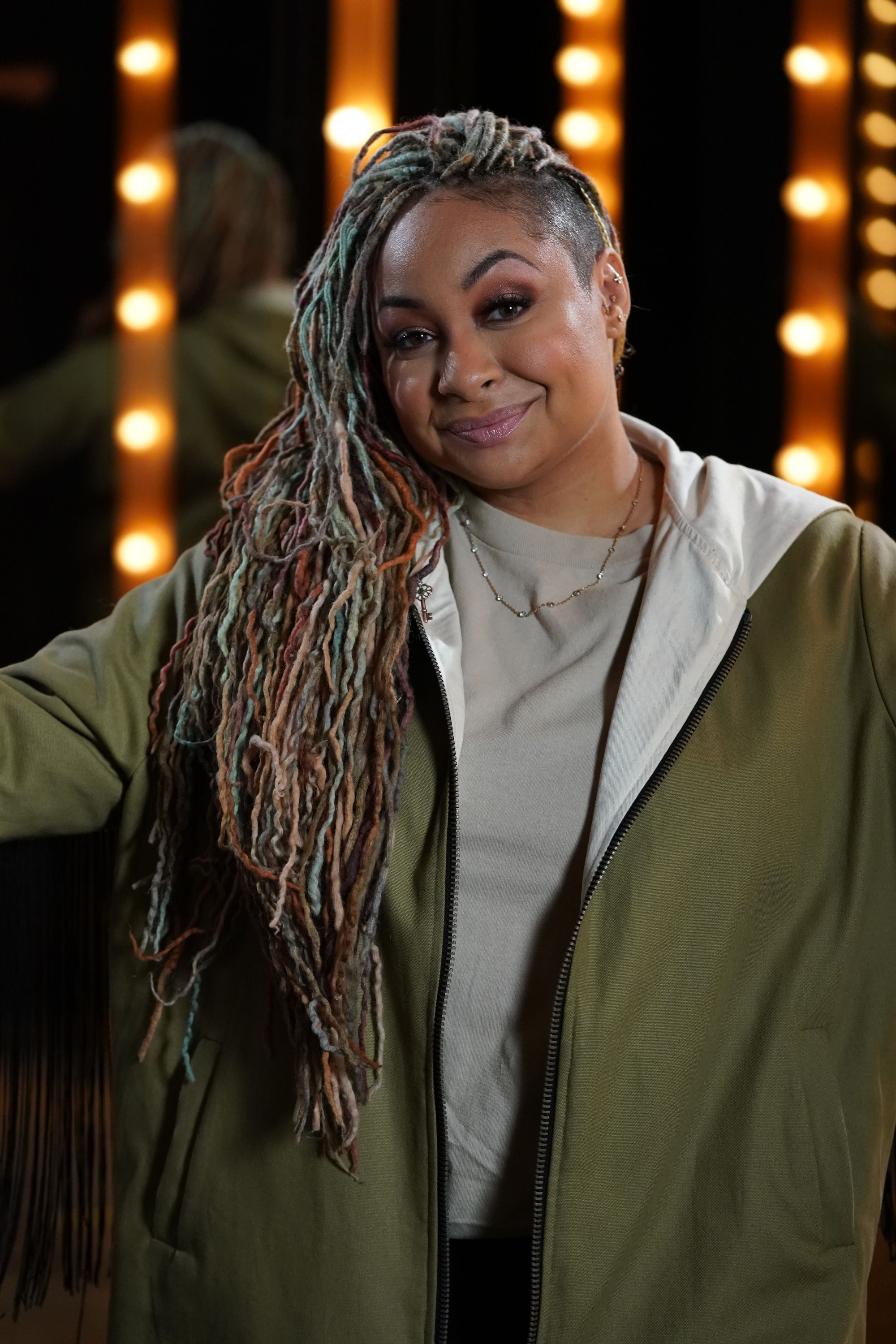 """Raven Symoné and Deon Cole make up the celebrity panel on """"To Tell the Truth,"""" which aired on, June 25. [Location and year unspecified]   Photo: Getty Images"""