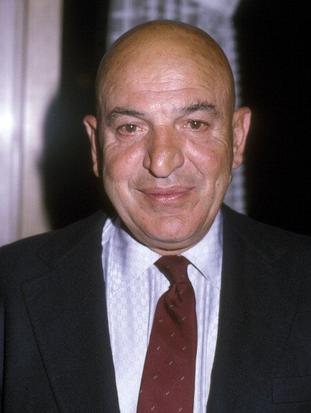 Telly Savalas attends the All Adult Living and Learning Benefit on March 4, 1983 at Sheraton Universal Hotel | Photo: Getty Images
