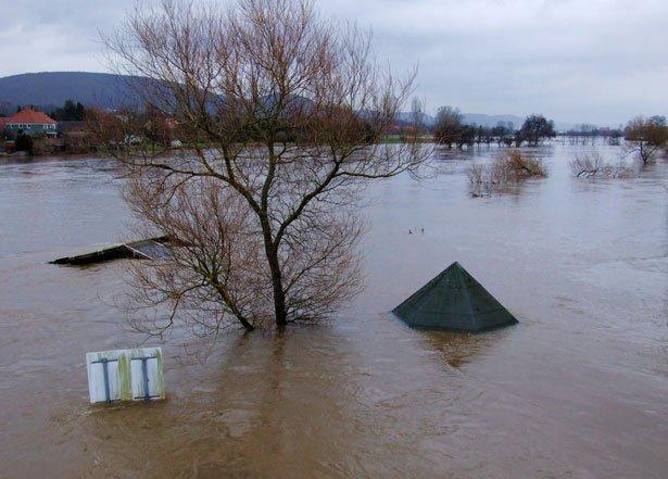 Inundación. | Foto archivo: Public Domain Pictures