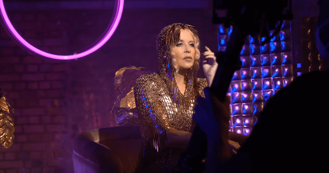 Kylie Minogue on set of her music video Magic | Photo: Youtube / Kylie Minogue