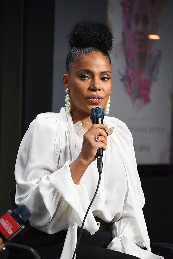 """Sanaa Lathan attends the SAG-AFTRA Foundation Conversations screening of """"Nappily Ever After"""" at SAG-AFTRA Foundation Screening Room on October 30, 2018 in Los Angeles, California. I Image: Getty Images."""