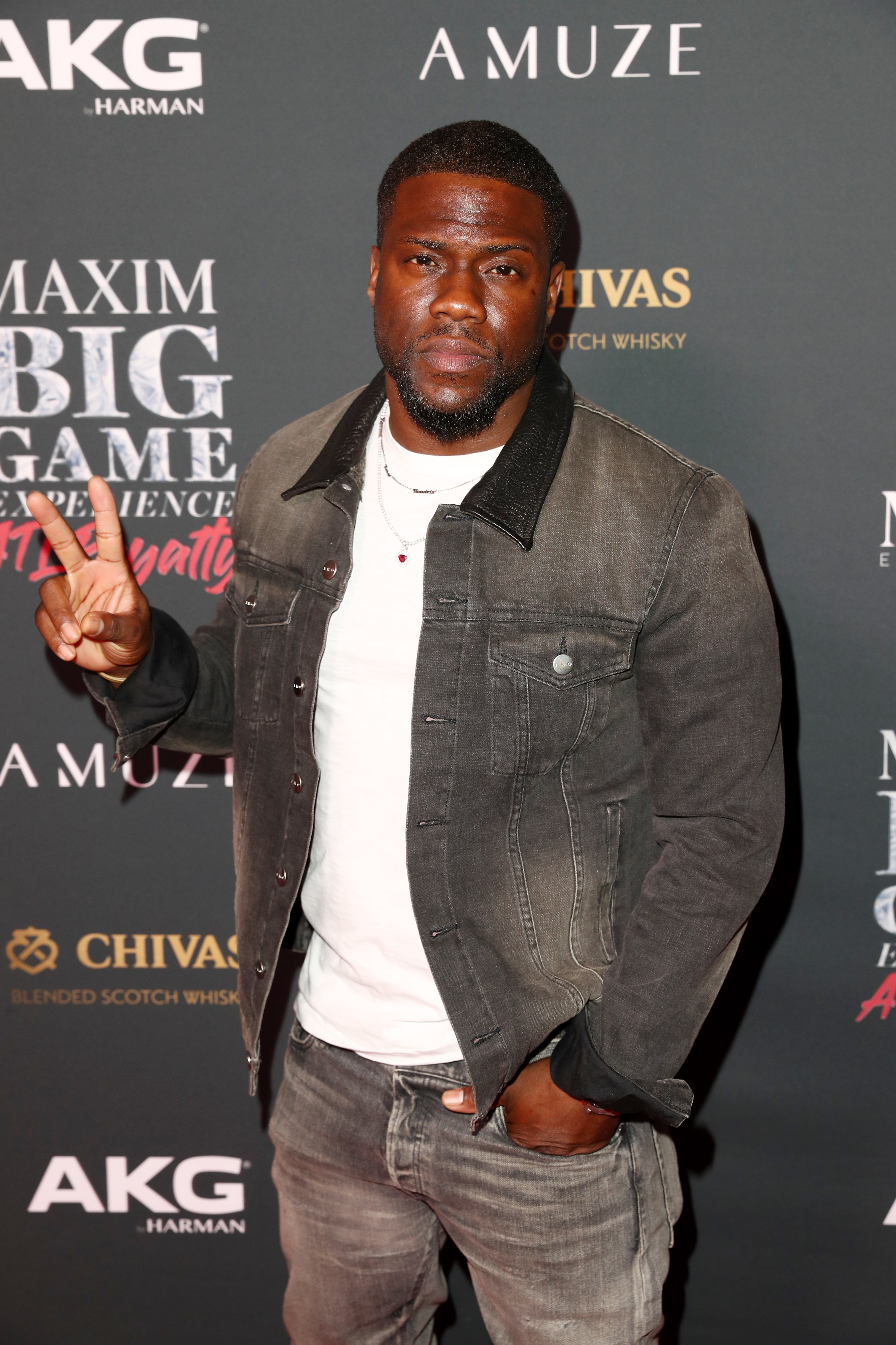 Kevin Hart attends The Maxim Big Game Experience on February 02, 2019, in Atlanta, Georgia. | Source: Getty Images.
