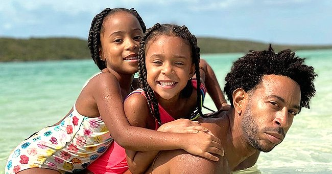 Check Out Ludacris, Wife Eudoxie & 3 Daughters in New Photos Proving They Are His Mini-Mes