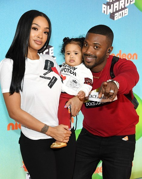 Princess Love, Melody Norwood, and Ray J at Nickelodeon's 2019 Kids' Choice Awards in Los Angeles, California.| Photo: Getty Images.