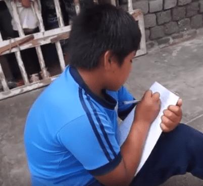 Victor Angulo, 12 ans. | Photo : Facebook/Municipalidad Distrital de Moche