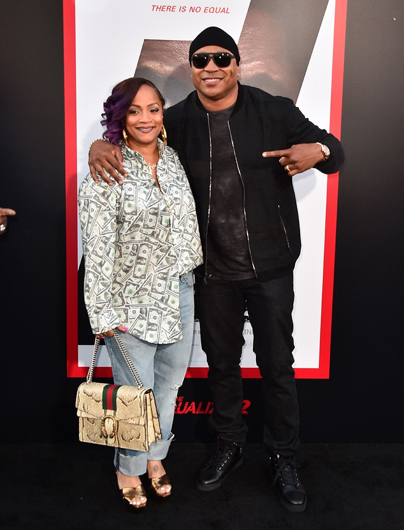 """Simone Smith and LL Cool J attend the premiere of Columbia Pictures' """"Equalizer 2"""" at the TCL Chinese Theatre on July 17, 2018 in Hollywood, California. I Image: Getty Images."""