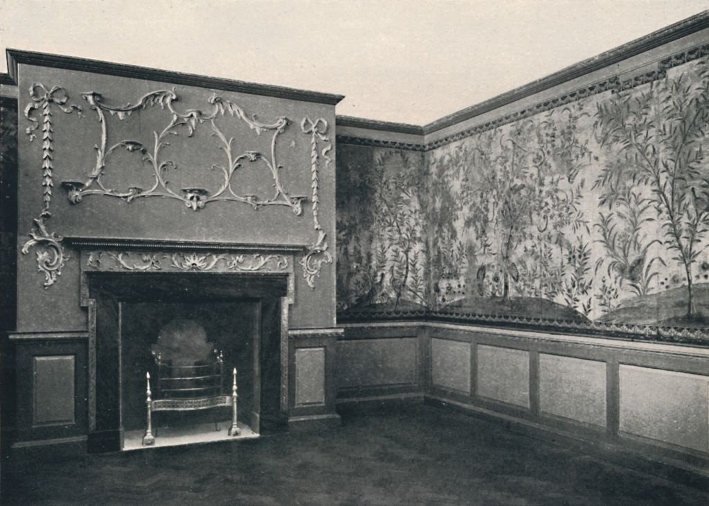 Panelled Room From A Gloucestershire House, circa 1740   Source: Getty Images
