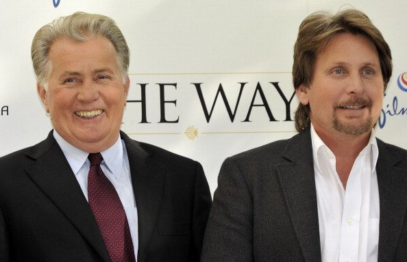 "Actor Martin Sheen (L) and director Emilio Estevez (R) attend ""The Way"" photocall at the Ritz Hotel on November 10, 2010, in Madrid, Spain. 