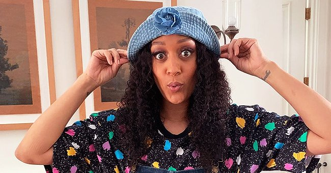 Tia Mowry from 'Sister, Sister' Shares Throwback Family Photo with Mom & Dad as She Urges Followers to Stay Home
