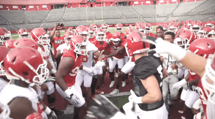 Source: YouTube/Rutgers Scarlet Knights Football