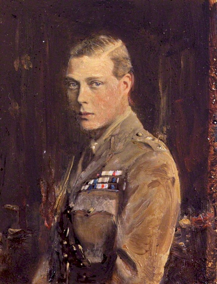 1920 Portrait byof Edward Prince of Wales by Reginald Grenville Eves | Wikimedia Commons