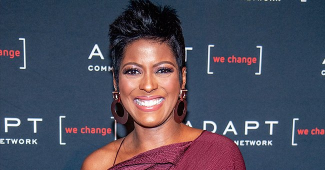 Tamron Hall Shares Rare Photo with Husband and Reveals What They Did on Valentine's Day