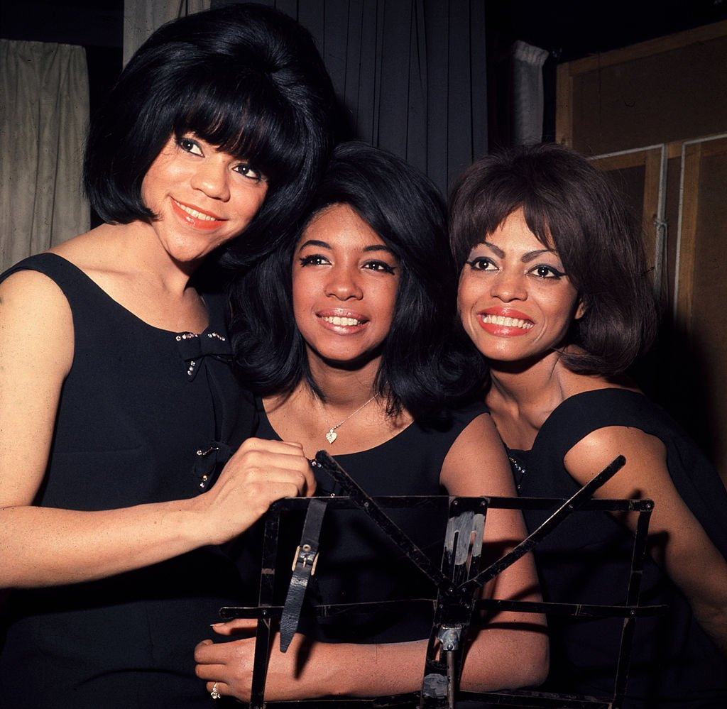 Florence Ballard, Mary Wilson, and Diana Ross of The Supremes in 1965. | Photo: Getty Images