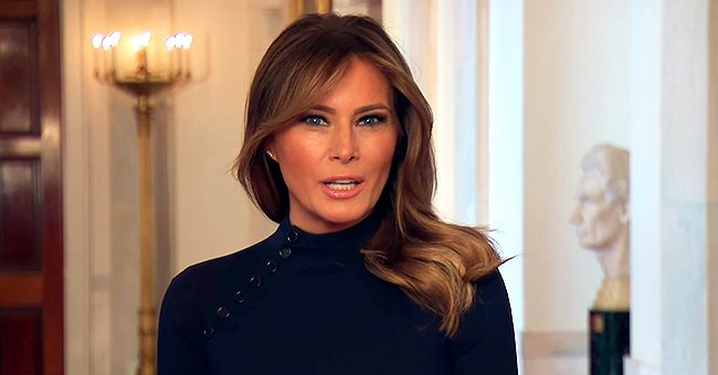 Melania Trump Encourages People to Take Wearing Face Masks and Social Distancing Seriously