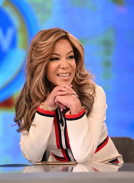 """Sunny Hostin on February 18, 2020 on ABC's """"The View."""" 
