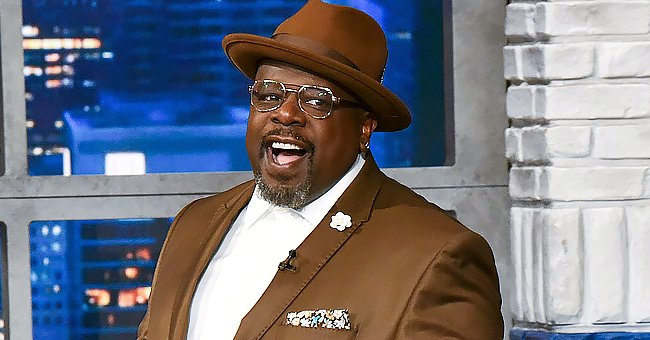 Cedric the Entertainer Posts Snap of Granddaughter Posing with Flowers — See Her Adorable Smile
