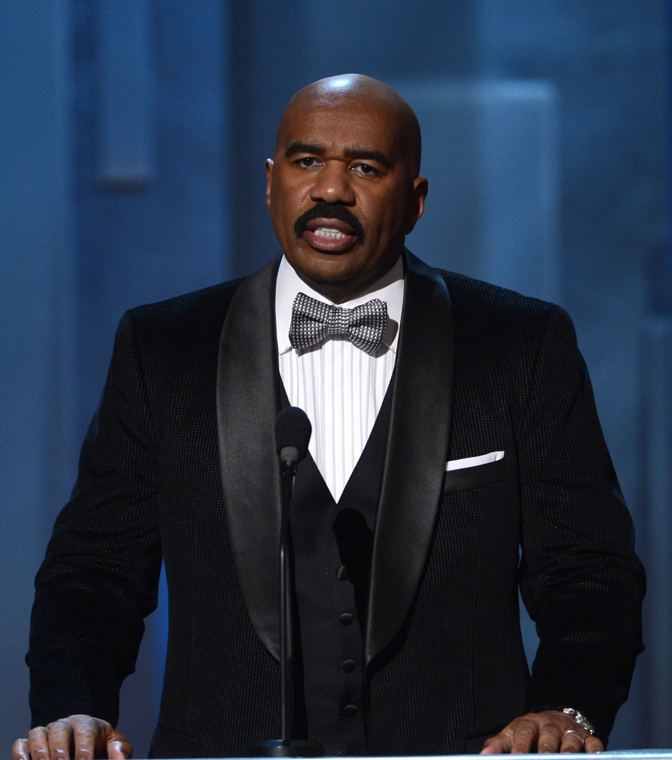 Host Steve Harvey during the 44th NAACP Image Awards at The Shrine Auditorium in Los Angeles, California | Photo: Kevin Winter/Getty Images for NAACP Image Awards