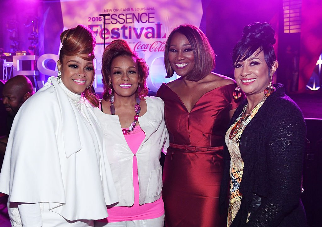 Karen Clark Sheard, Jacky Cullum Chisholm, Yolanda Adams, and Dorinda Clark-Cole attend the Tribute Finale at the 2016 ESSENCE Festival Presented By Coca-Cola at Ernest N. Morial Convention Center on July 3, 2016 | Photo: Getty Images