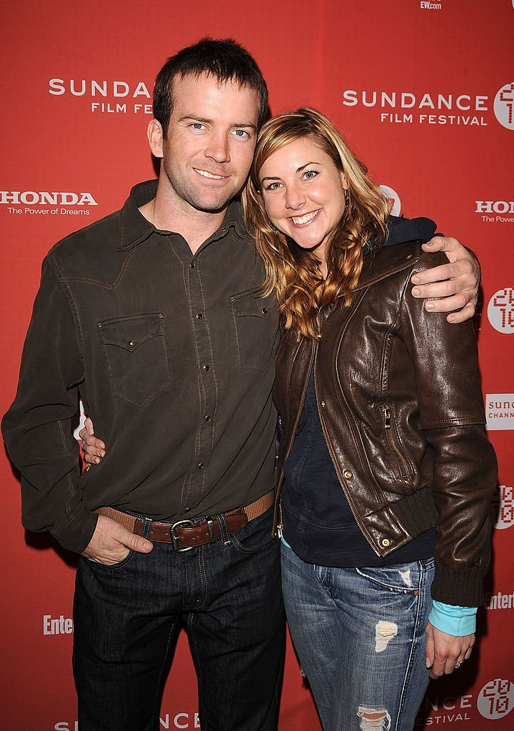 "Lucas Black and Maggie O'Brien attend the ""Get Low"" premiere during the 2010 Sundance Film Festival at Eccles Center Theatre 