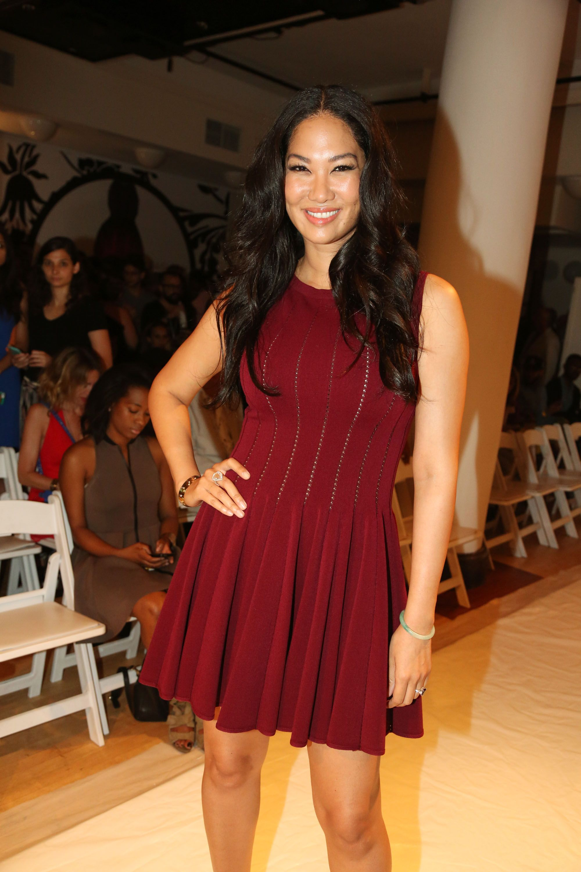 Kimora Lee Simmons attends Argyleculture By Russell Simmons on September 5, 2014 in New York.   Photo: Getty Images
